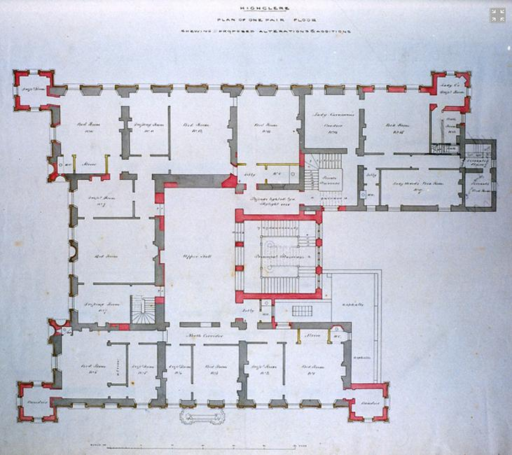 Highclere Castle Floor Plan: The Real Downton Abbey
