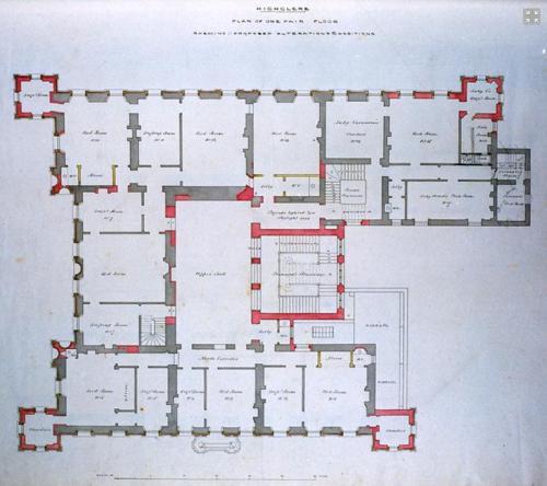 Highclere Castle Floor Plan