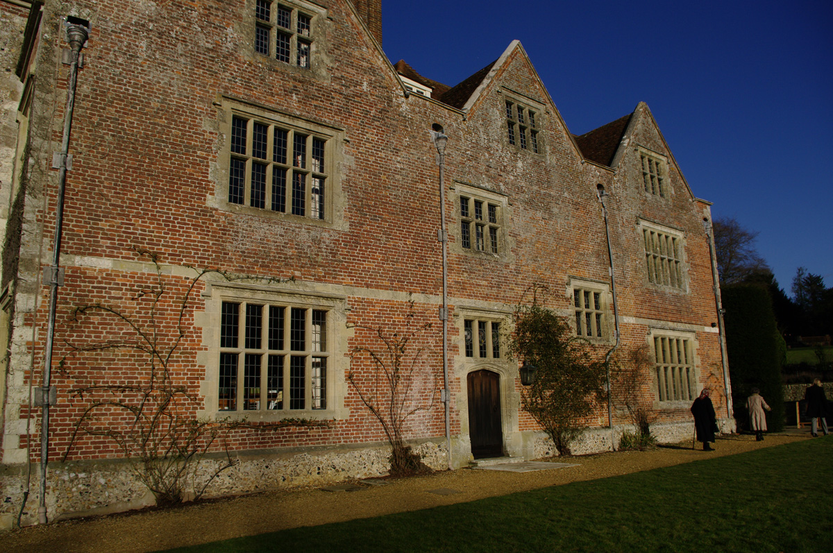 Chawton house a virtual visit jane austen 39 s world for Building houses with side views
