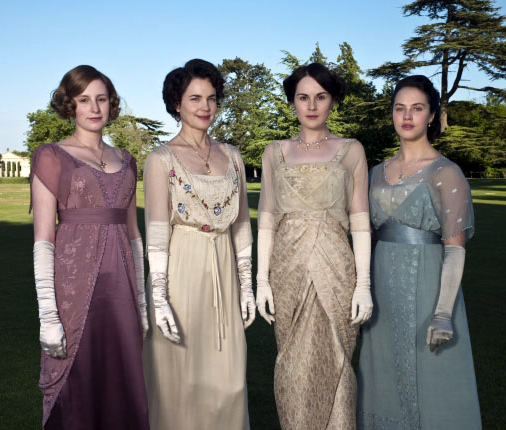 Downton abbey fashions with the new noblewoman jane austen s world