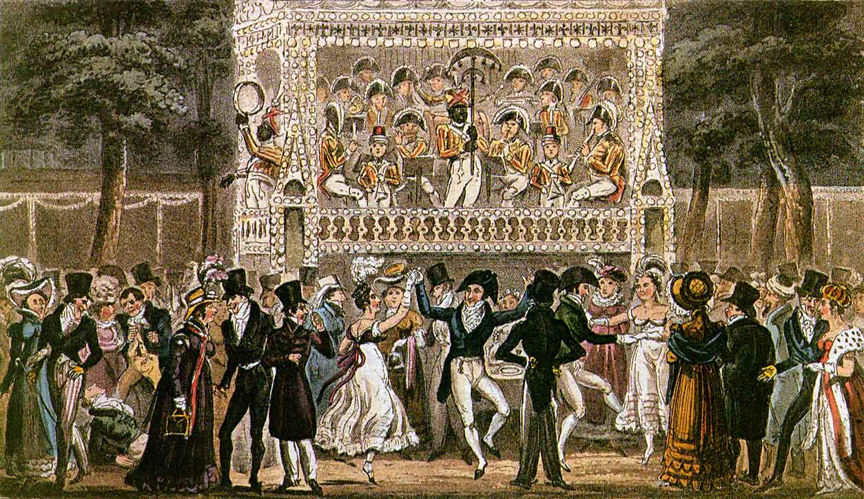Image result for vauxhall gardens