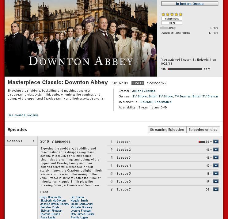 Questions About Pamuk: Downton Abbey | Jane Austen's World