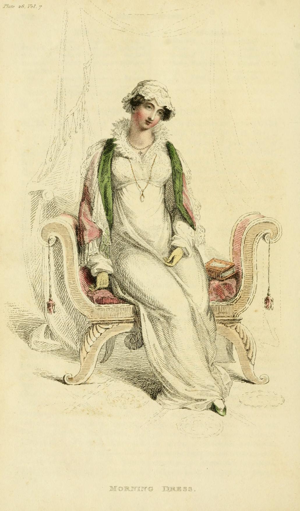 A Regency Morning Dress of 200 Years Ago: April, 1812 | Jane ...