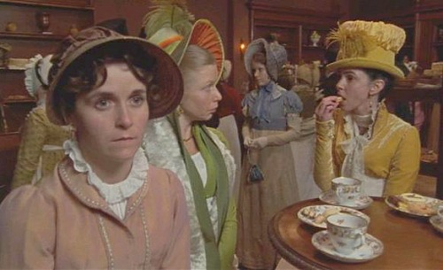 Tea Room in Bath, as depicted in Persuasion 1995