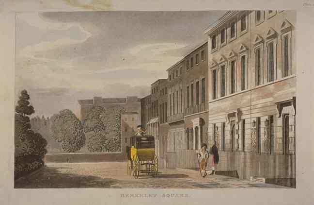 Berkeley Square in 1813