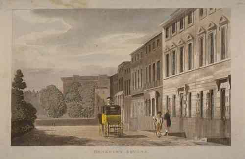 Berkeley Square in 1813