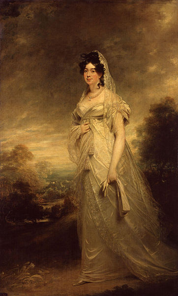 Harriot Coutts in 1817-18, by Beechey