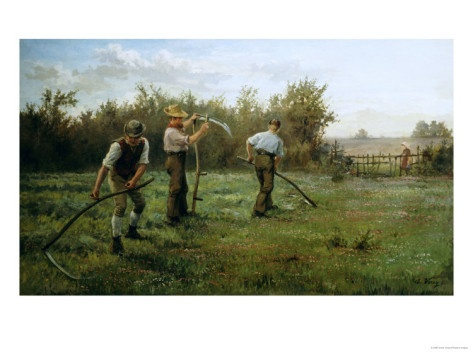 mowing-clover-late-19th-c-arthur-verey.jpg (473×354)
