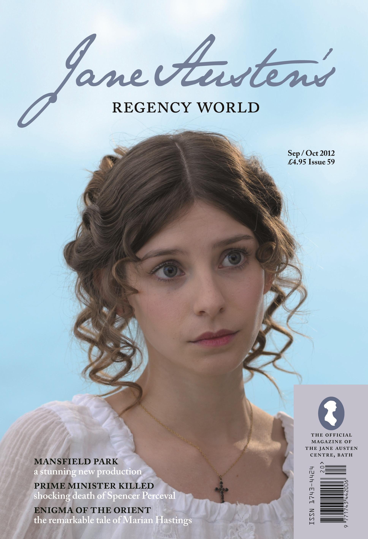 Jane Austen U2019s Regency World Magazine