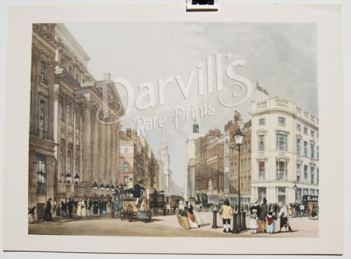 Mansion House, Cheapside. Image @Darvill's Rare Prints