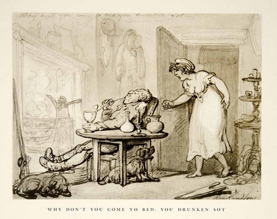 Aquatint, Rowlandson. Image @Amazon