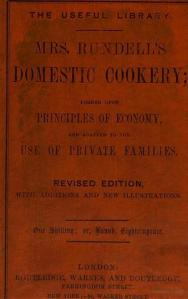 Rundell Domestic Cookery