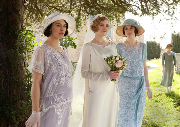 Downton Abbey Season 3 wedding dress poll   Jane Austen\'s World