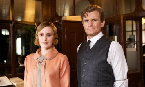 Lady Edith in her work outfit, London