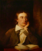 NPG 194; John Keats by William Hilton, after  Joseph Severn