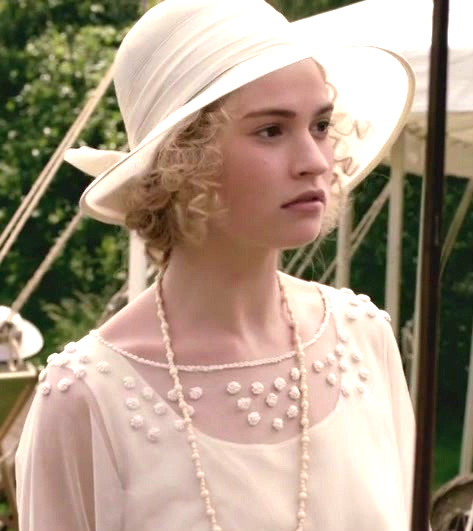 Lily James As Lady Rose Macclare Jane Austen 39 S World