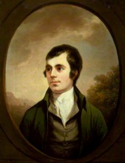 NPG 46; Robert Burns by Alexander Nasmyth