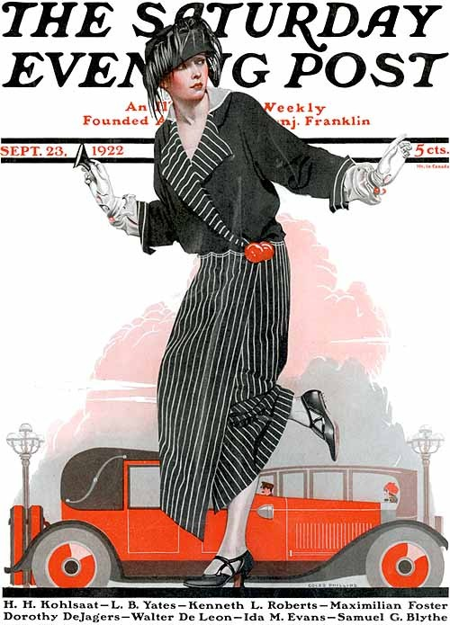 Saturday Evening Post, 1922