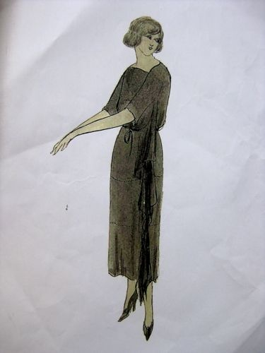 Vionnet chiton dress