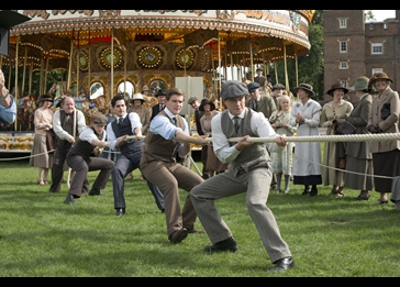 Tug of War. Credit: Courtesy of © Nick Wall/Carnival Film & Television Limited 2012 for MASTERPIECE