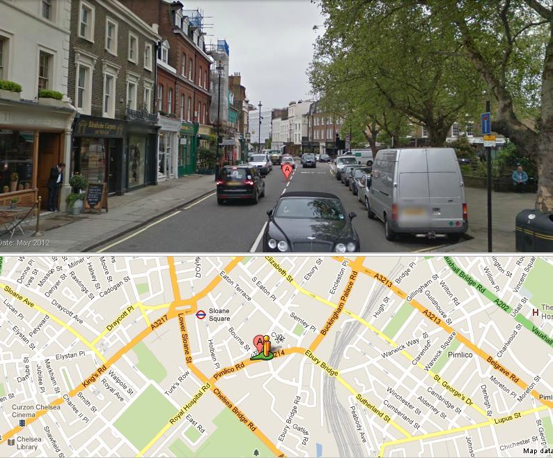 Pimlico Road in 2012