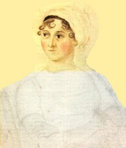 My preferred image of Jane Austen painted by Cassandra Austen. Image @National Portrait Gallery.