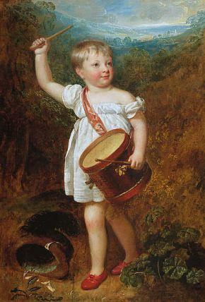 Portrait of William Ellis Gosling, 1800 , Sir William Beechey, R.A. Image @Wikipedia