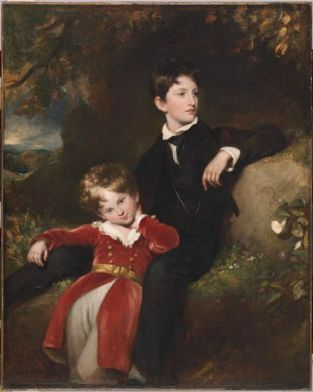 Thomas Lawrence English (Bristol, England 1769 - 1830 London, England) Sir Walter James, Bt., and Charles Stewart Hardinge, 1829. Image @Harvard Art Museums