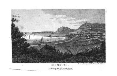 Sidmouth 1803 engraving