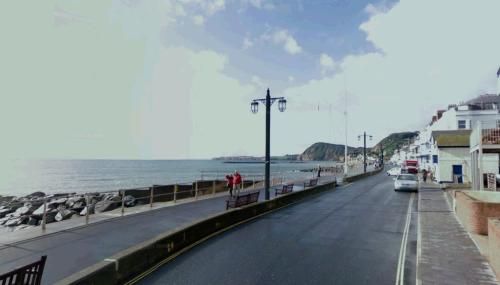 Sidmouth's Esplanade today. Image @Google maps.