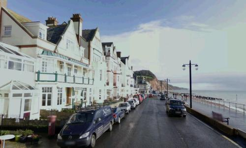 Sidmouth today. Image @ Google Maps