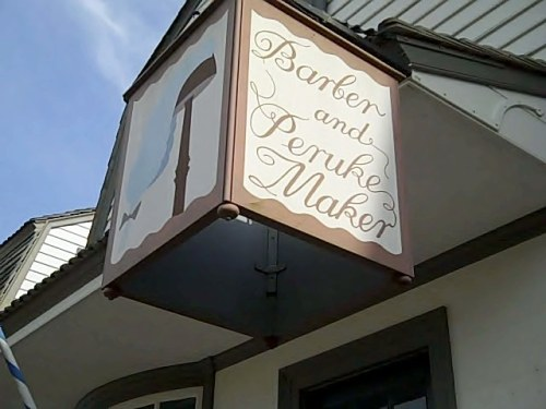 Barber and Peruke Maker