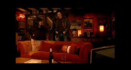 Richard Armitage and Dawn French in the Vicar of Dibley