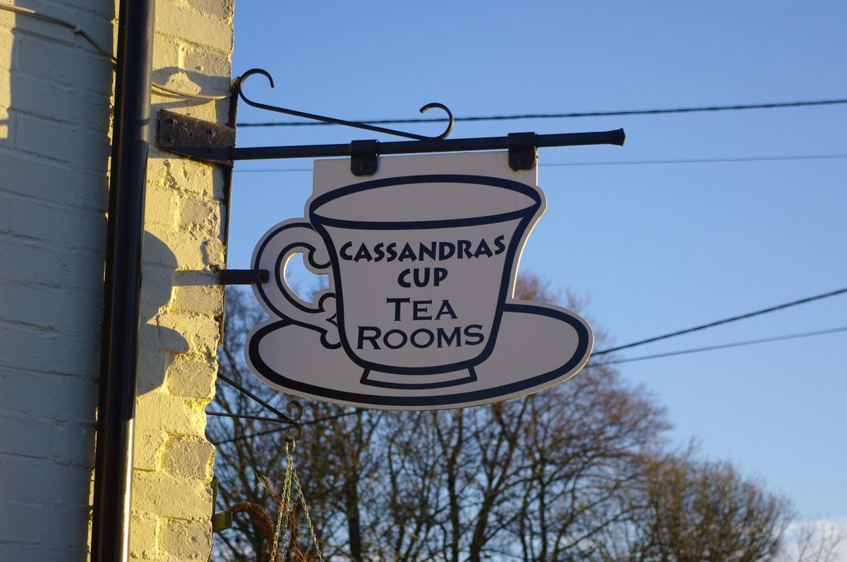 Cassandra's Cup tea rooms. Image@Tony Grant