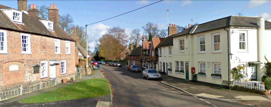 A Drive Through Chawton Village Jane Austen S World