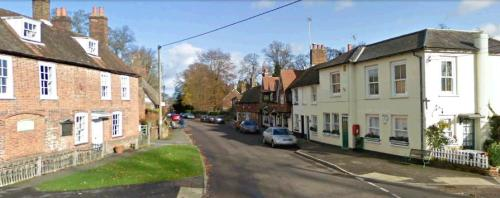 The next few scenes show Chawton Cottage from many angles.
