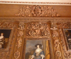 Details of wood work by Grinling Gibbons