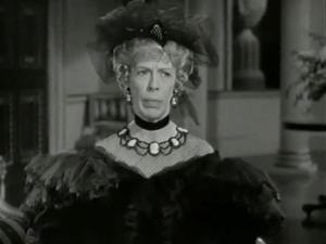 The incomparable Edna Mae Oliver as Lady CdeB, co-conspirator and romantic at heart