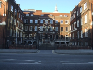 he Royal College of Arms next to St Pauls where the coat of arms for William and Mary College was created. Image @Tony Grant