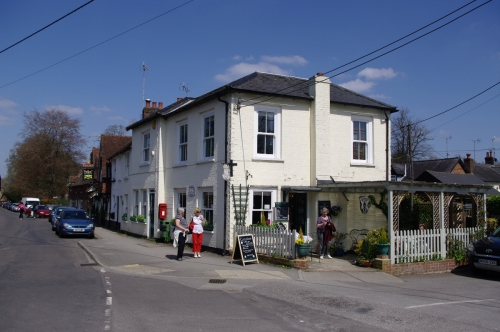 Cassandra's Tea Room, a modern establishment that is popular with visitors.