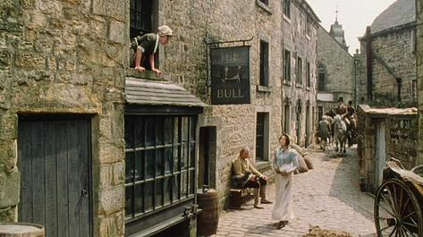 Social circles are small in a rural village. Pride and Prejudice 1995
