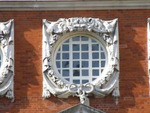 Detail of a Wren window