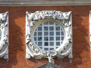 Detail of a Wren window