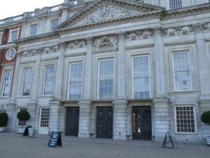 Sir Christopher Wren's addition to Hampton Court