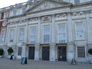 Sir Christopher Wren's addition to Hampton Court