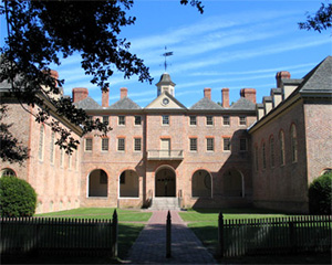 Wren Building. @William & Mary's website. Click on image to see the source.