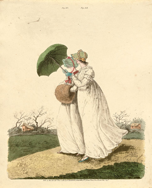 Nicholas Heidelof, morning gowns. 1801