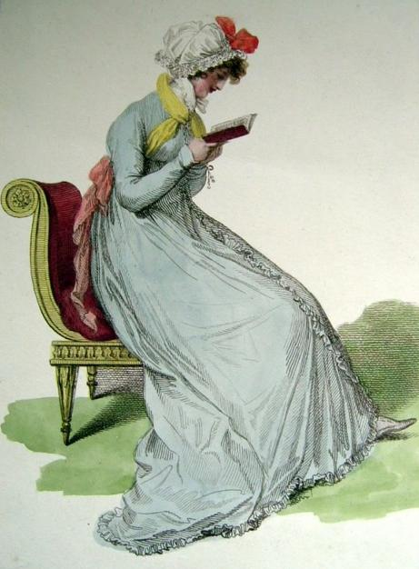 Mirroir de la Mode, undress, 1803