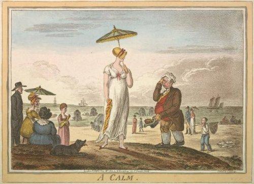 A Calm, 1810, Gillray
