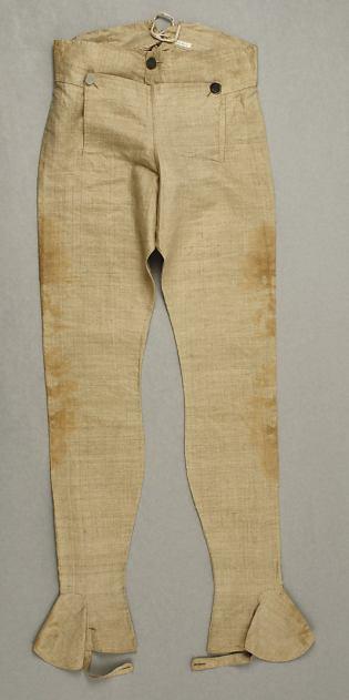 Trouser, 1793. Image @Met Museum